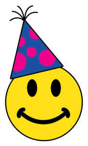 Party Hat Smiley Face